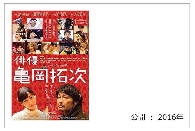 映画 『俳優 亀岡拓次』