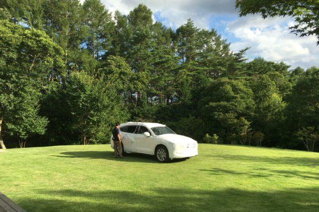 Mazda CX-8 撮影会設営