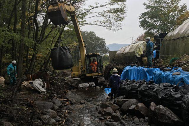 台風21号災害復旧